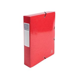 Archivbox A4 R60mm Iderama 600g rot
