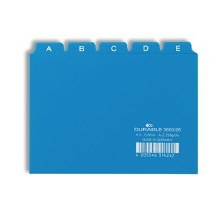 DURABLE-LEITREGISTER blau