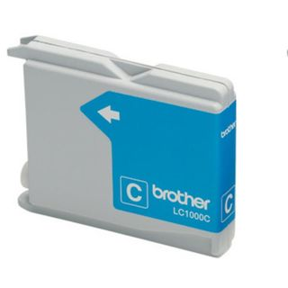 brother® Tintenpatrone, LC1000C, original, cyan, 400 Seiten